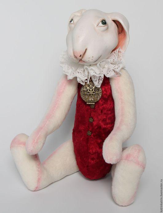 Куклы и игрушки ручной работы. Ярмарка Мастеров - ручная работа. Купить Белый кролик. Handmade. Белый, страна чудес, заяц