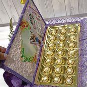 Цветы и флористика ручной работы. Ярмарка Мастеров - ручная работа Букеты из конфет (классный журнал). Handmade.