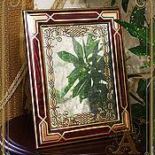 """Для дома и интерьера ручной работы. Ярмарка Мастеров - ручная работа Зеркало-""""Зеркальная тайна"""". Handmade."""