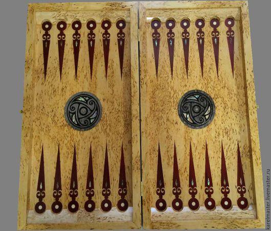 Подарки для мужчин, ручной работы. Ярмарка Мастеров - ручная работа. Купить Нарды в скандинавском стиле. Handmade. Подарок мужчине