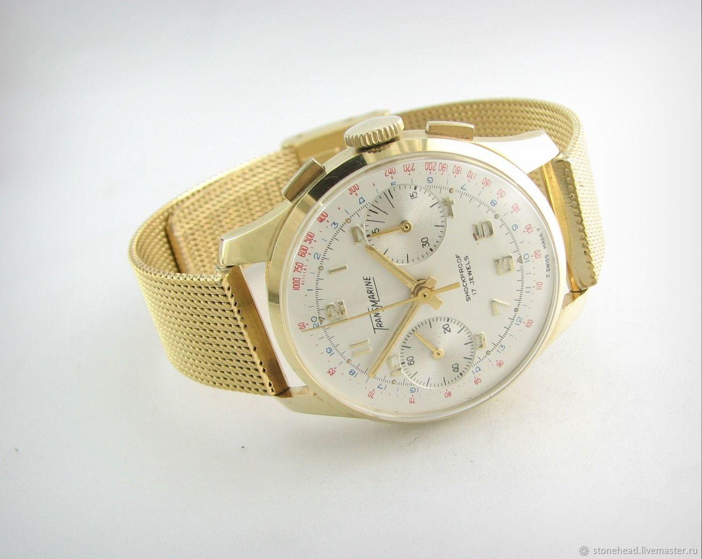Часы мужские под золото купить в антиквариат часы наручные женские