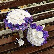 Свадебные букеты ручной работы. Ярмарка Мастеров - ручная работа Букет невесты и Дублёр букета. Handmade.
