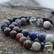 Фен-шуй и эзотерика handmade. Livemaster - original item Chakra beads made of different stones, personal talisman. Handmade.