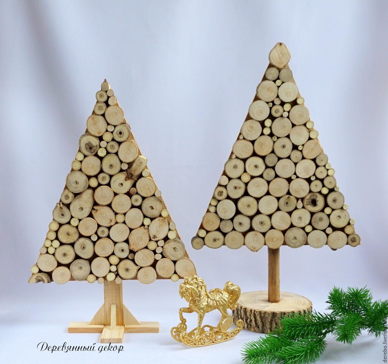 Модная идея: Деревянная елка своими руками - Homester
