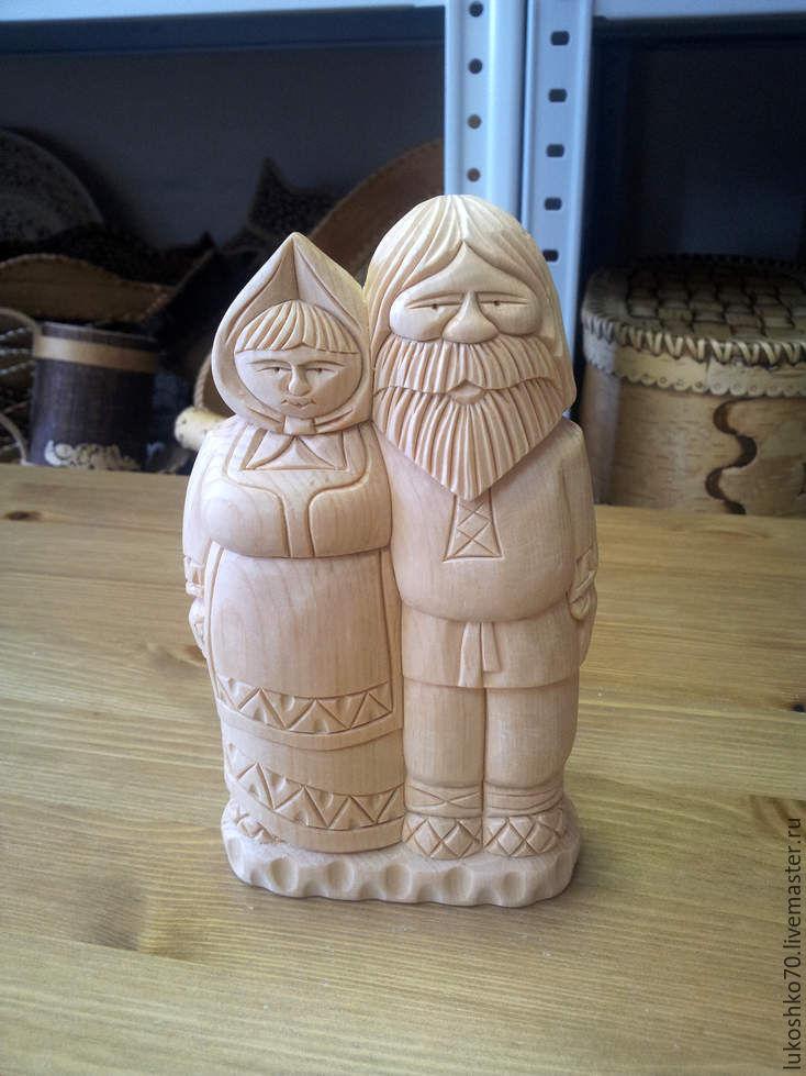 Figurine wooden. Figurines made of wood. My grandparents, Figurine, Tomsk,  Фото №1