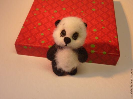 Игрушки животные, ручной работы. Ярмарка Мастеров - ручная работа. Купить медвежутик панды. Handmade. Чёрно-белый, сувенир