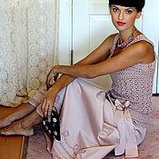 """Одежда ручной работы. Ярмарка Мастеров - ручная работа Платье """"Чайная роза"""". Handmade."""