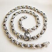 Украшения handmade. Livemaster - original item Chain: Silver chain for men
