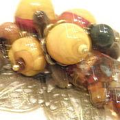 """Украшения ручной работы. Ярмарка Мастеров - ручная работа Подвеска """"Осенний лес"""". Handmade."""
