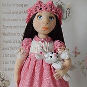 Куклы и игрушки ручной работы. Ярмарка Мастеров - ручная работа Текстильная интерьерная кукла КРИСТИНА. Handmade.