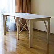 Материалы для творчества handmade. Livemaster - original item Table felting. Folding. 214х100смвысота 90 cm.. Handmade.
