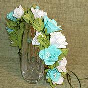 """Венок из цветов """"Фантазийные цветы"""""""