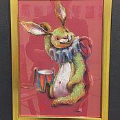 """Картины ручной работы. Ярмарка Мастеров - ручная работа Картины: """"Ударим?"""". Handmade."""