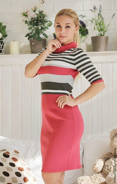 """Платья ручной работы. Ярмарка Мастеров - ручная работа. Купить Платье """"Helen"""". Handmade. Вязаное платье, платье для офиса"""