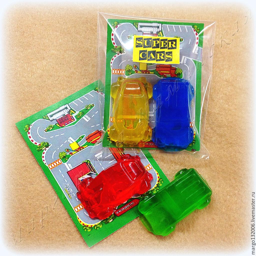 Супер машинки набор мыла из 2 машинок в подарок ребенку, Мыло, Москва,  Фото №1