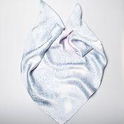 Аксессуары handmade. Livemaster - original item Batik silk scarf Serenity. Handmade.