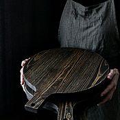 Подносы ручной работы. Ярмарка Мастеров - ручная работа Поднос-подставка. Handmade.