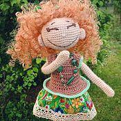Куклы и игрушки handmade. Livemaster - original item Interior Laughs Doll. Amigurumi. Handmade.