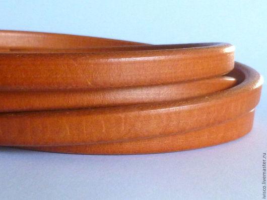 Для украшений ручной работы. Ярмарка Мастеров - ручная работа. Купить Шнур Регализ 10х6мм рыжий. Handmade. Рыжий