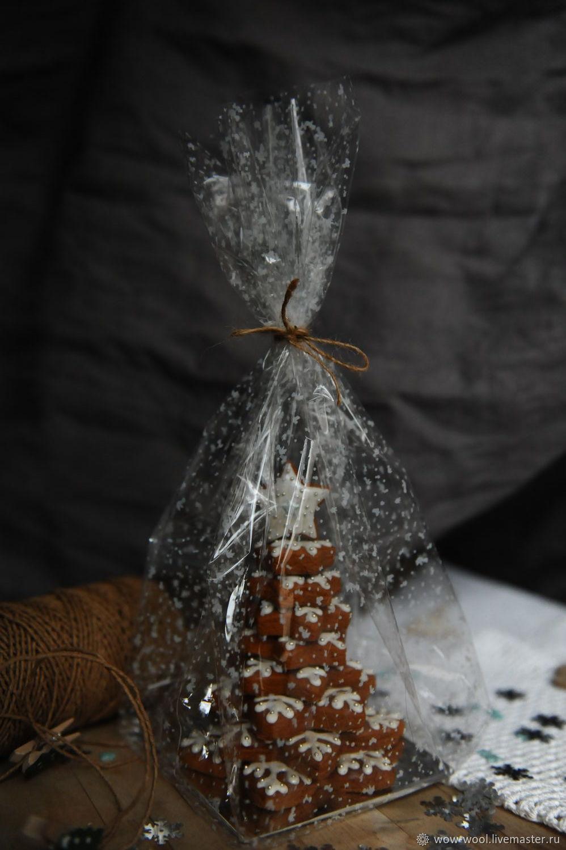 Имбирный пряник ёлочка, Год Быка, Москва,  Фото №1