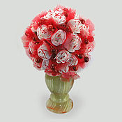 Цветы и флористика handmade. Livemaster - original item Flowers of coral