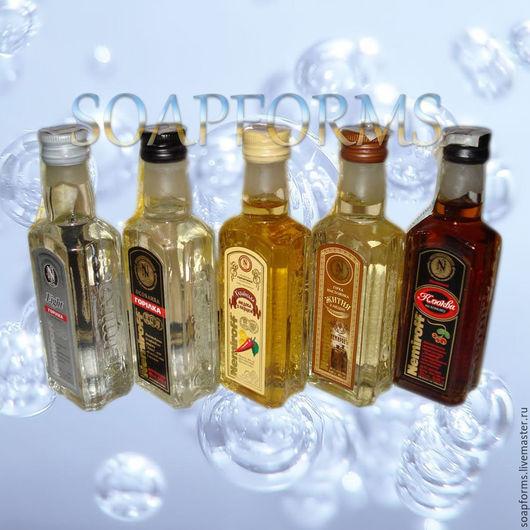 Силиконовая форма для мыла `Бутылка Nemiroff`