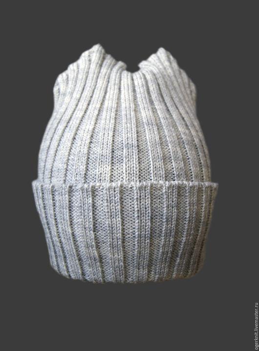 Шапки и шарфы ручной работы. Ярмарка Мастеров - ручная работа. Купить Детская шапка. Handmade. Серый, мода 2016