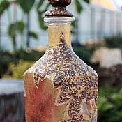 Посуда ручной работы. Ярмарка Мастеров - ручная работа бутылочка. Handmade.
