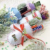 Подарки к праздникам ручной работы. Ярмарка Мастеров - ручная работа Символ года Новогодний подарок. Handmade.