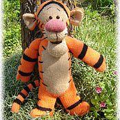 Куклы и игрушки ручной работы. Ярмарка Мастеров - ручная работа Мягкая игрушка Тигра. Handmade.