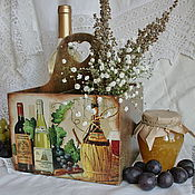 """Для дома и интерьера ручной работы. Ярмарка Мастеров - ручная работа короб """"Винный погребок"""". Handmade."""