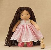 Вальдорфские куклы и звери ручной работы. Ярмарка Мастеров - ручная работа Кукла для Милаши, 31 см. Handmade.