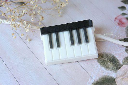 """Мыло ручной работы. Ярмарка Мастеров - ручная работа. Купить Мыло ручной работы """"Пианино"""". Handmade. Пианино, ручная работа"""