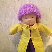 Куклы и игрушки ручной работы. Ярмарка Мастеров - ручная работа Куколка с одежкой. Handmade.