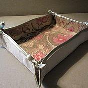Для дома и интерьера ручной работы. Ярмарка Мастеров - ручная работа Корзиночка для мелочей. Handmade.