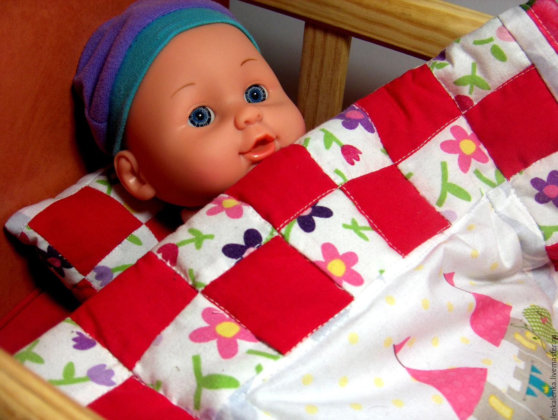 Как сделать подушку для куклы своими руками 477