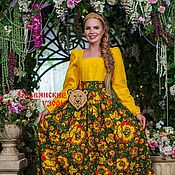 Одежда handmade. Livemaster - original item Dress in folk style