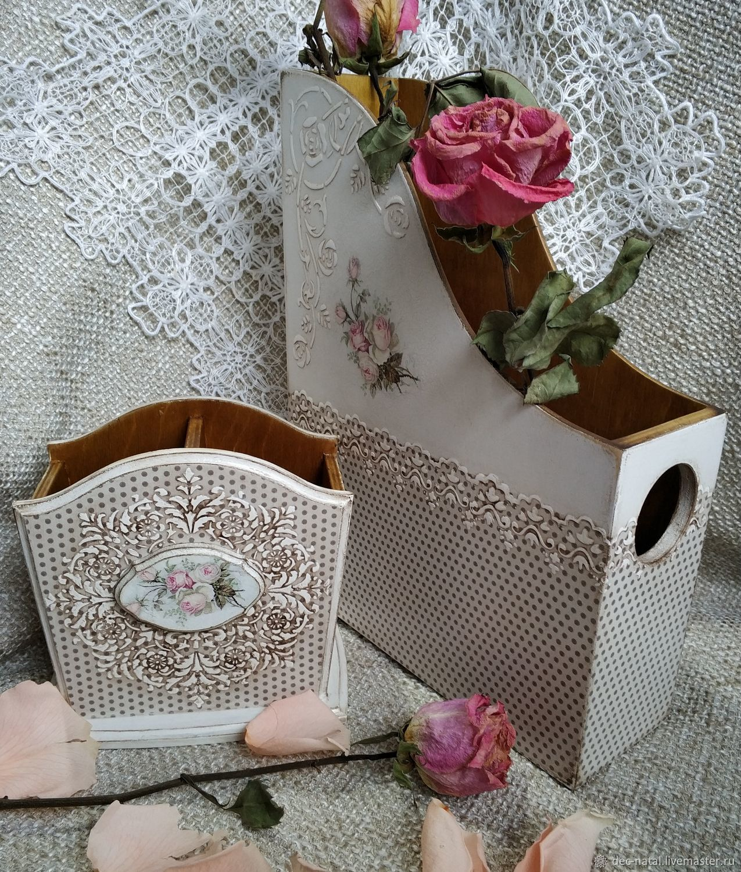 Журнальница и карандашница-органайзер Розы, Журнальницы, Северное, Фото №1