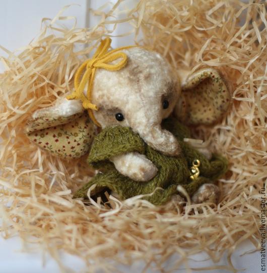 Мишки Тедди ручной работы. Ярмарка Мастеров - ручная работа. Купить Буся. Handmade. Лимонный, слоник тедди, винтажный плюш
