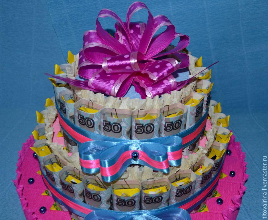 Торт из купюр своими руками фото 10