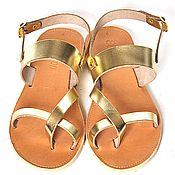 """Обувь ручной работы. Ярмарка Мастеров - ручная работа Кожаные сандалии """"классические"""" 2 с ремешком. Handmade."""