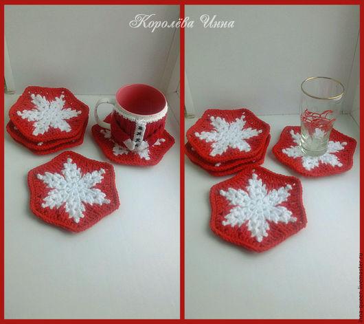 Снежинка в Красном