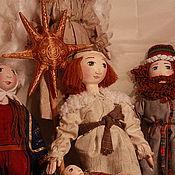 """Куклы и игрушки ручной работы. Ярмарка Мастеров - ручная работа Композиция """" Вертеп"""". Handmade."""