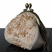 Сумки и аксессуары handmade. Livemaster - original item Embroidered handbag, felted purse, light purse, purse. Handmade.