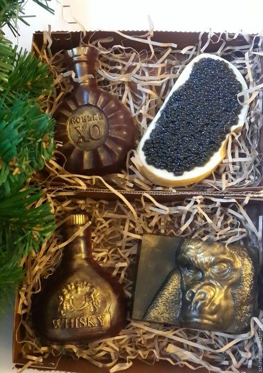 Мыло ручной работы. Ярмарка Мастеров - ручная работа. Купить Мыло на новый год. Handmade. Комбинированный, подарочная коробочка, краситель косметический
