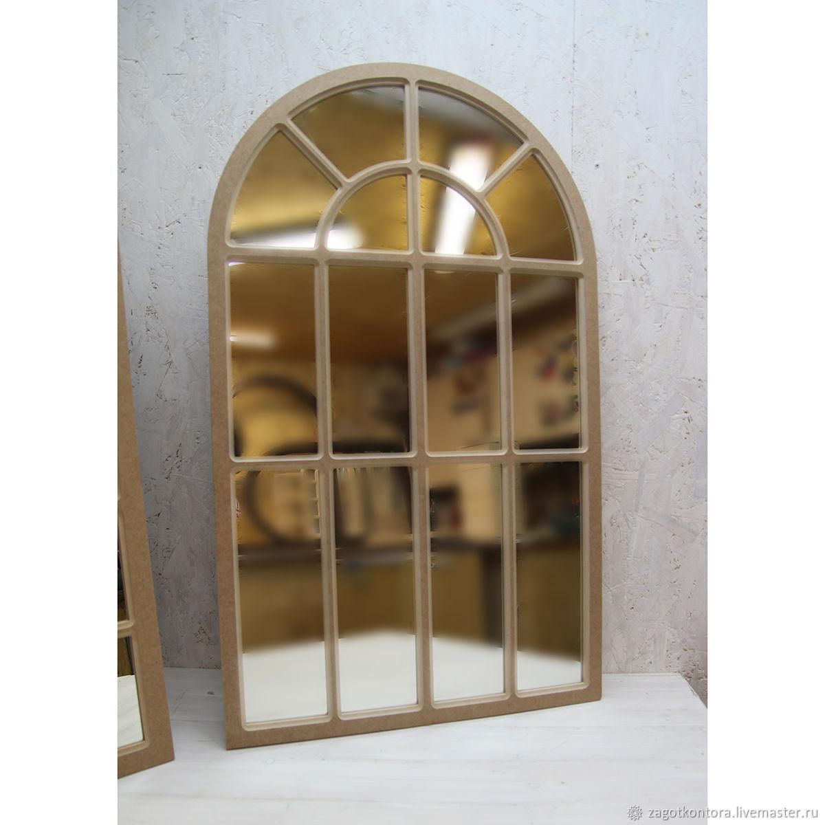 Рама арочная с переплётом для зеркала, Зеркала, Москва,  Фото №1