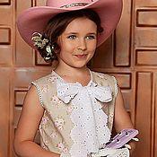 Работы для детей, ручной работы. Ярмарка Мастеров - ручная работа Платье для девочки из коллекции Country Girl. Handmade.