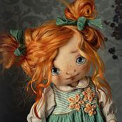 Куклы и игрушки ручной работы. Ярмарка Мастеров - ручная работа Весеннее солнышко. Handmade.