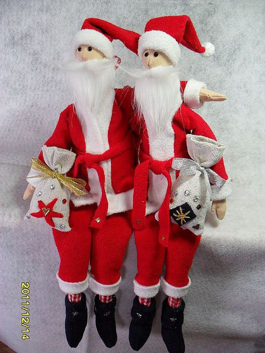 Куклы Тильды ручной работы. Ярмарка Мастеров - ручная работа. Купить Санта-Клаус. Handmade. Тильда, санта клаус