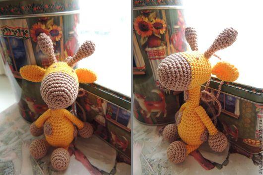 Развивающие игрушки ручной работы. Ярмарка Мастеров - ручная работа. Купить Игрушка с можжевеловыми бусинами. Handmade. Золотой, можжевеловые бусины